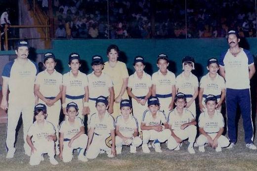 Liga Sabinas en el campeonato nacional de ligas pequeñas división menor de 1986