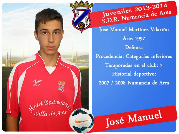 ADR Numancia de Ares. JOSE MANUEL