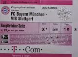 FCB-VfB, DFB-Pokal, 11.2004