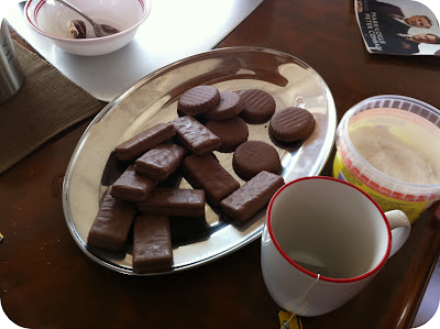 tea and tim tams
