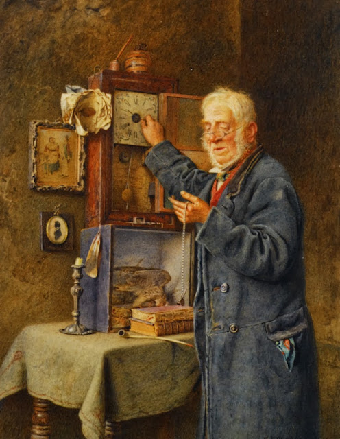Charles Spencelayh - Greenwich Time