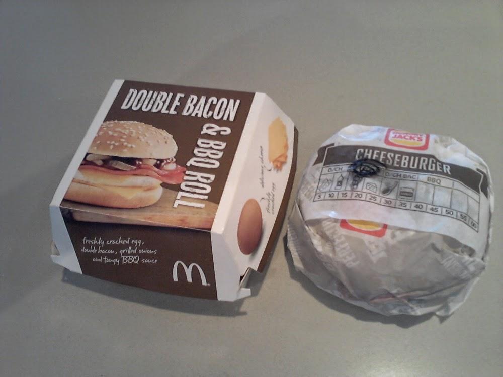 Triple Cheeseburger Battle McDonalds Vs Burger King Hungry