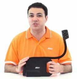 USB dokumentum kamera Az óra feldobásának egyszerű titka a hattyúnyakú AverVision U10-el