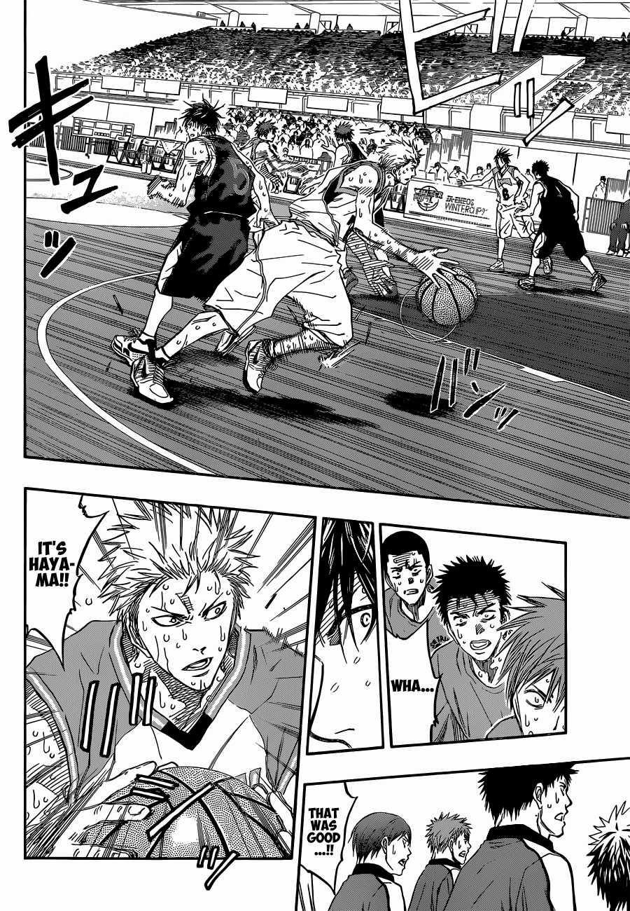 Kuroko no Basket Manga Chapter 270 - Image 07