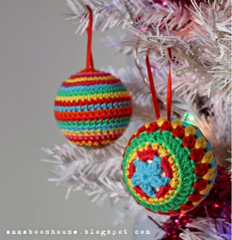 Beginner Crochet Ball Pattern : Annaboos house: The one with the crochet balls