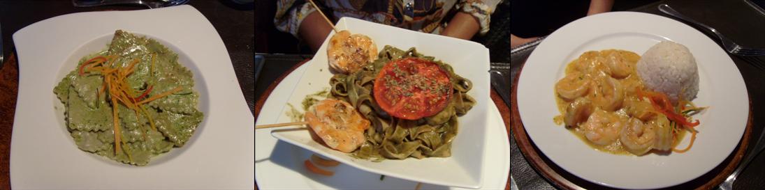 comida restaurante giratorio em santiago