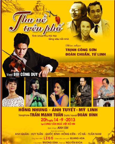 Poster đêm nhạc
