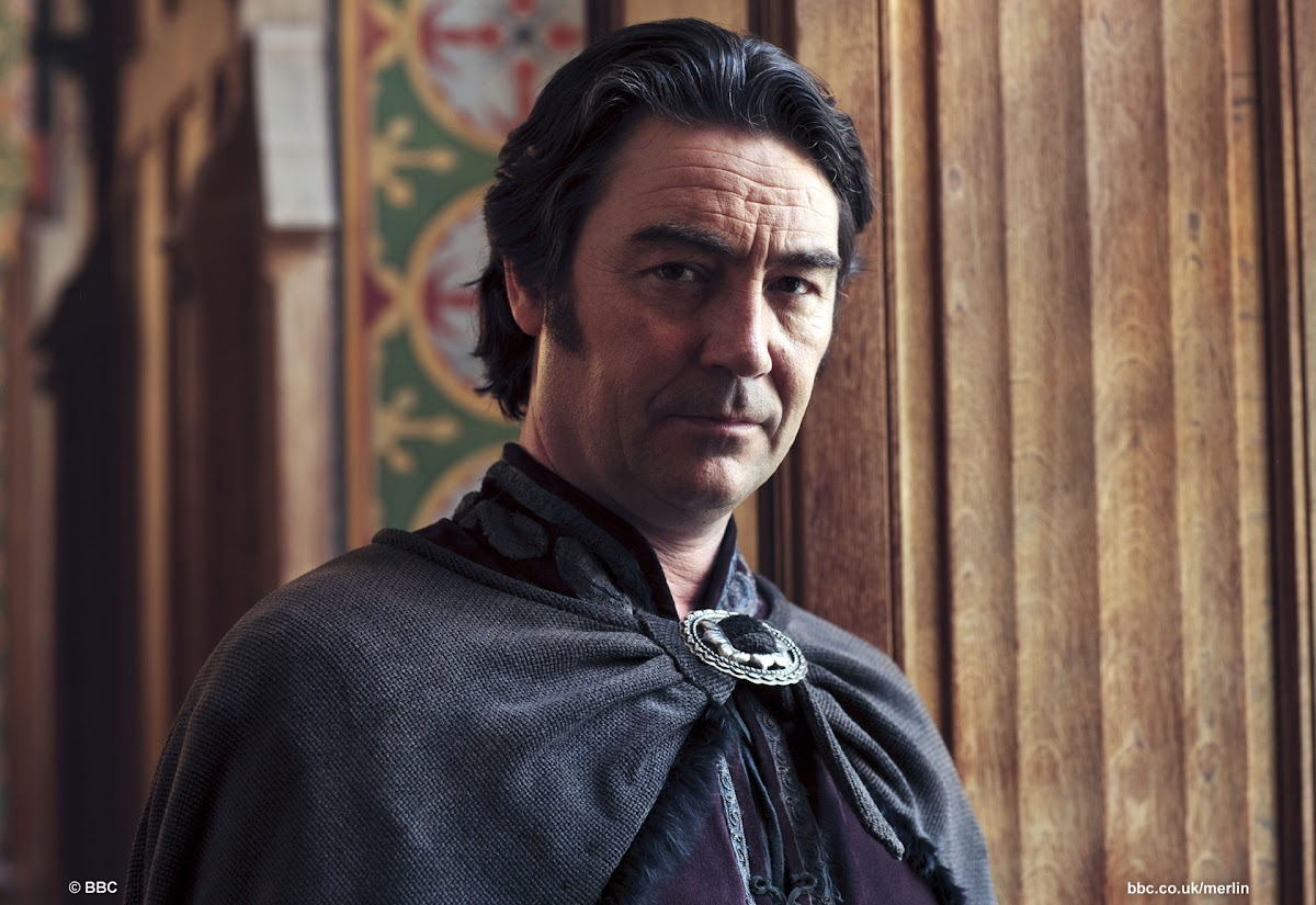 Nathaniel Parker is Lord Agravaine BBC Merlin