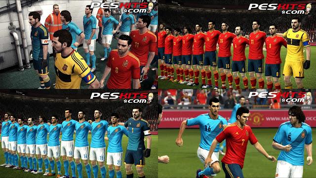 Espanha EURO 2012 Kitset - PES 2012