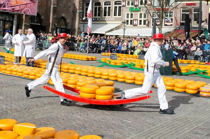 Alkmaar-ตลาดชีสโบราณ