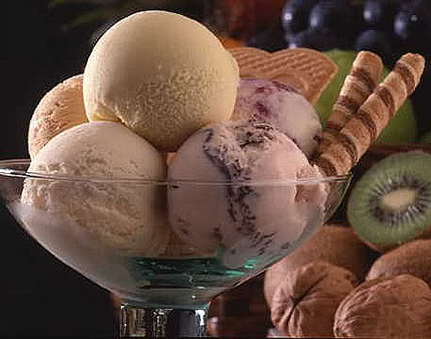 Characteristic of ice cream in the Turkey
