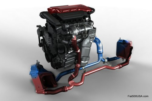 2012 Fiat 500 Abarth Powertrain