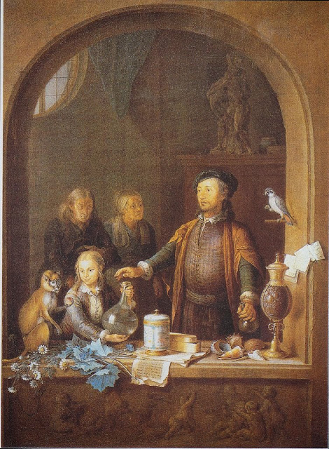 Willem van Mieris - The pharmacist