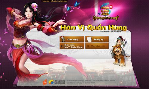 Ngọa Long ra mắt phiên bản Hán Vị Quần Hùng 1