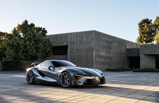Toyota reveals FT-1 Vision GT Concept