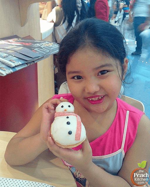 Holiday Cheer with Krispy Kreme Christmas Doughnuts