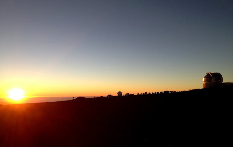 Mauna Kea sunset, Big Island, Hawaii