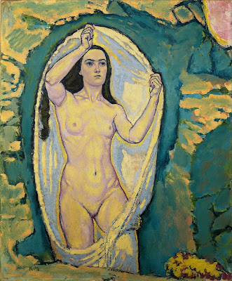 Koloman Moser - Venus in the Grotto (ca. 1915)
