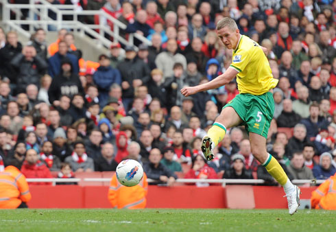 Steve Morison, Arsenal - Norwich City