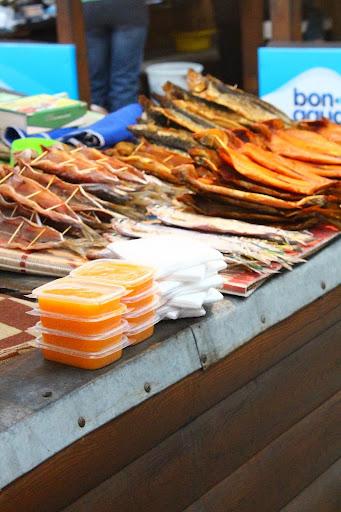 Listvyanka Fish Market Fish roe Lake Baikal