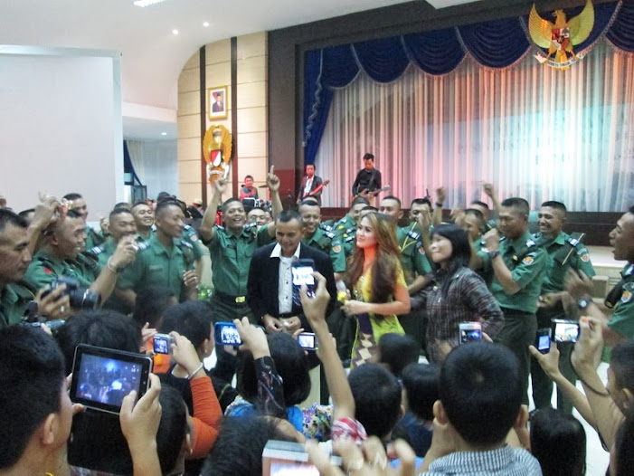 Bandung entertainment dalam event di secapa AD, event organizer bandung, jasa eo di bandung, bandung eo, MICE Bandung