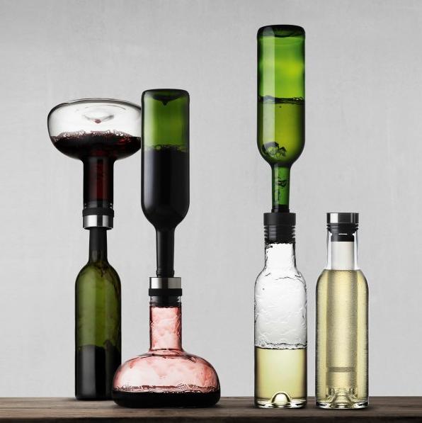 Menu Set decanter e bottiglia refrigerante