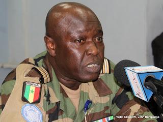 Colonel Felix Basse. Radio Okapi/Ph. John Bompengo