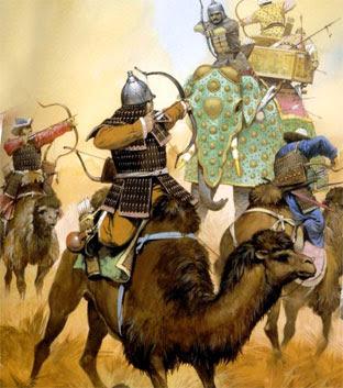 Бой монголов с армией Хорезма