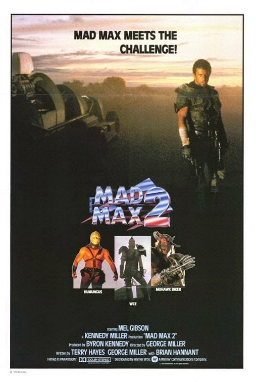 Poster Of Mad Max 2: The Road Warrior (1981) Full Movie Hindi Dubbed Free Download Watch Online At Alldownloads4u.Com