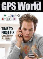 GPS World Magazine October 2011 Cover