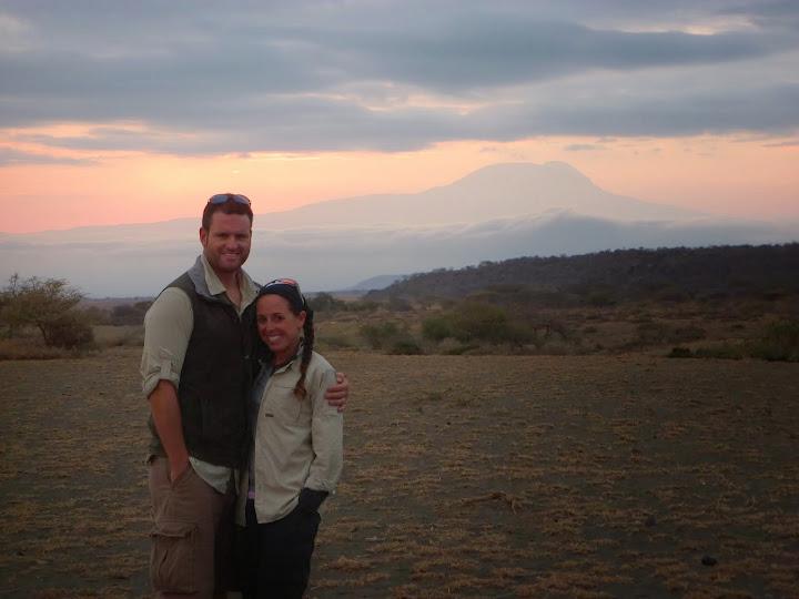 Sunrise over Mt Kilimanjaro