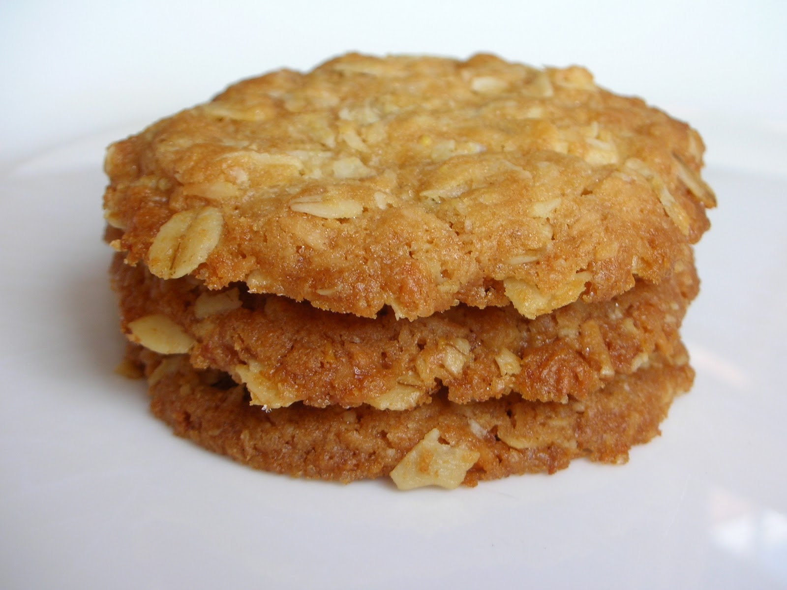 ANZAC Cookies Biscuits Recipe Or Coconut Oat