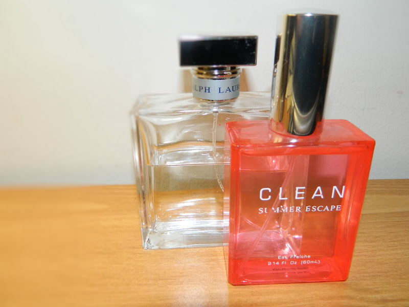 clean summer escape and ralph lauren eau de parfume
