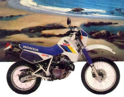 blogger image  1349245411 - Garagem do Colecionador: HONDA XLX350R 1988 (Xizelona)