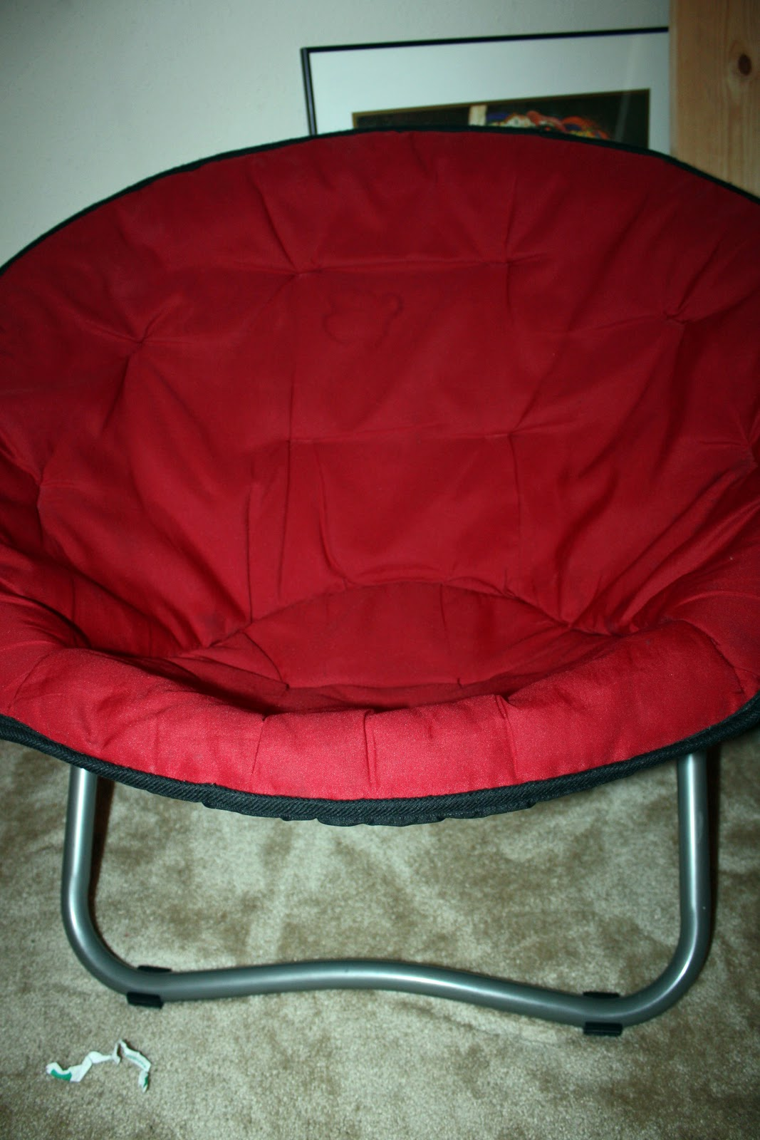 My Latest Obsession: Mini Papasan Chair Cover