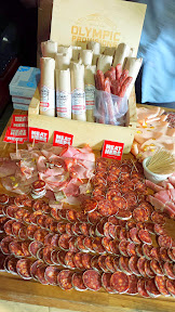 Olympic Provisions was on hand with a meatastic display of charcuterie for participants to graze on to balance out the beer and cheese tastings