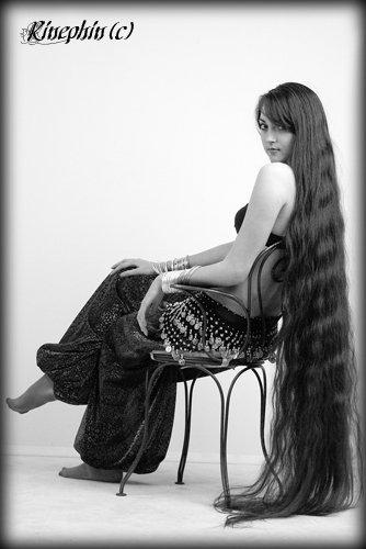floor length long hair girl woman photo image
