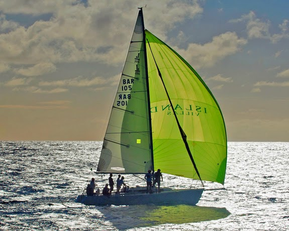 J/105 Whistler sailing Barbados Mt Gay Rum series