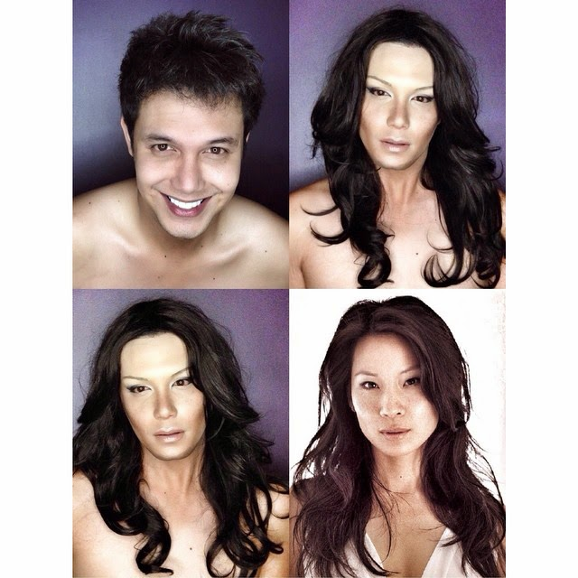 Paolo Ballesteros Makeup Transformations with Pictures 05