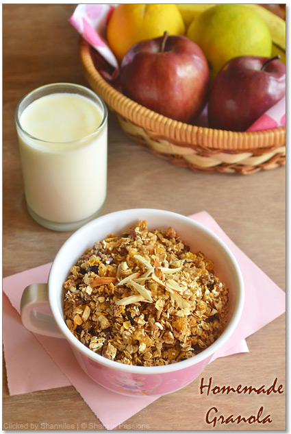 Homemade Muesli / Granola Recipe