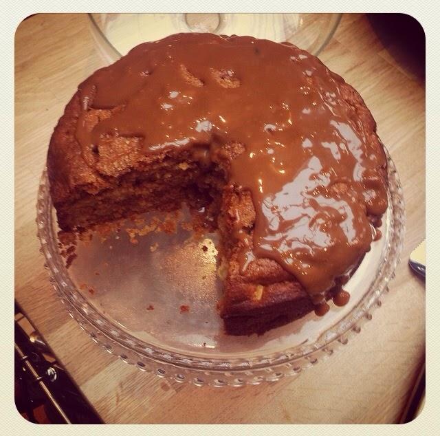 Waitrose Caramel Apple Cake