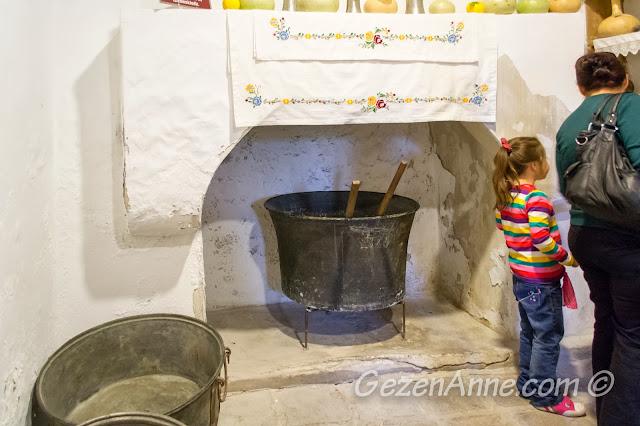 eski kazanlar ve ocak, Yaşayan Müze Beypazarı