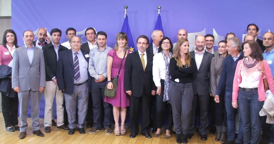 Delegação de Lamego visita Bruxelas numa altura crucial para a Europa
