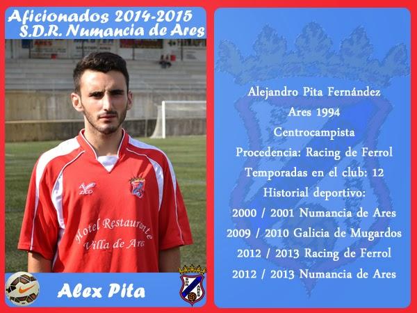ADR Numancia de Ares. ALEX PITA.