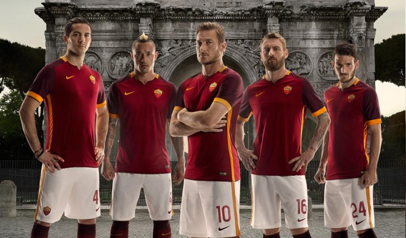 New AS Roma 2015-16 Home Kit Released (Away Leaked) e62c6b56f
