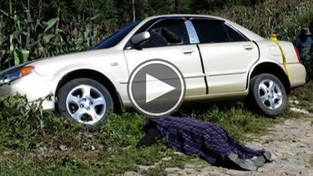 Encuentran a maestro sin vida dentro de vehículo