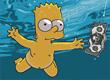 Jogos dos Simpsons Bart Bicicleta