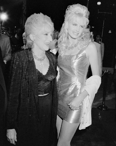 Olympia Dukakis and Ivana Trump
