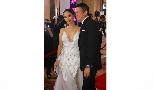 Heart Evangelista and Chiz Escudero
