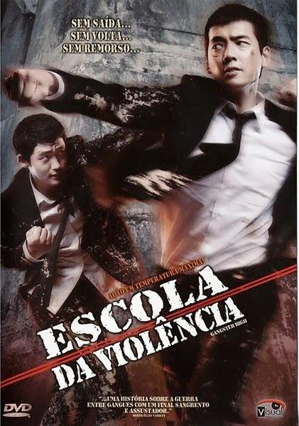 Filme Poster Escola Da Violência DVDRip XviD Dual Audio & RMVB Dublado